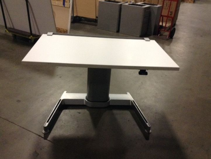 airtouch pneumatic height adjustable table